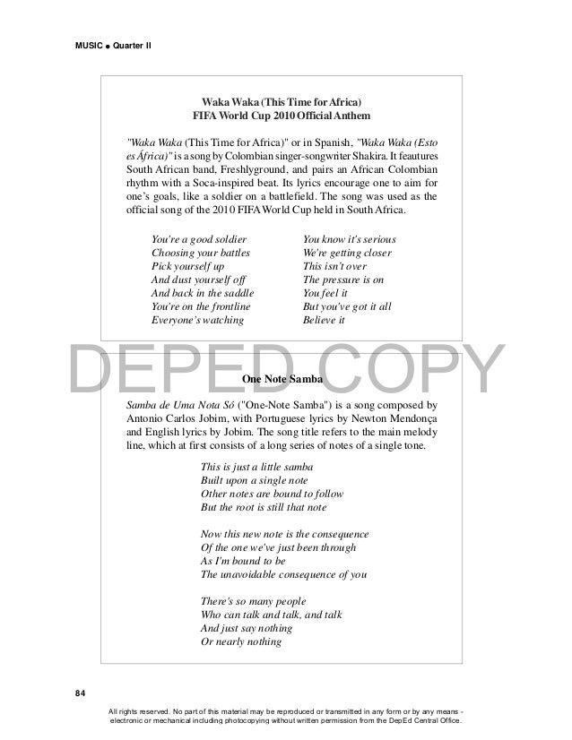Lyric birds courting song lyrics : 3 music grade 10 lm qtr 2 (8 apr 2015)