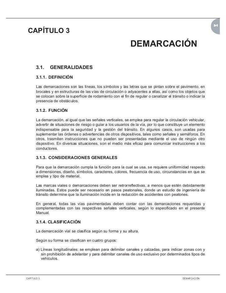 3-1 CAPÍTULO 3                                                                DEMARCACIÓN       3.1.    GENERALIDADES     ...