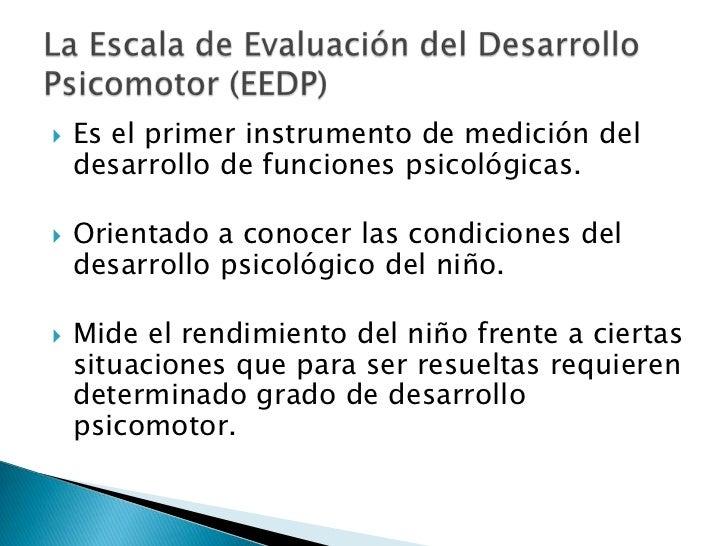 Es el primer instrumento de medición del desarrollo de funciones psicológicas.<br />Orientado a conocer las condiciones de...