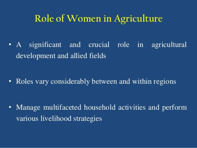 the multifaceted role of women in Role of women in society essaysthe role of women in society has been greatly overseen in the last few decades but now are coming to a more perspective to people in the early days women were.