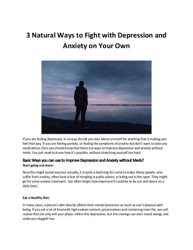 how long will depression last without medication