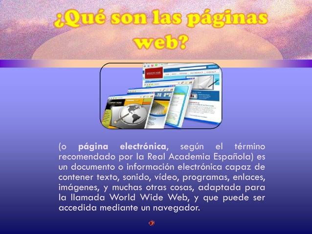Componentes de una pagina web Encabezado principal o titular grafico que se encuentra en la parte superior de la pagina. L...