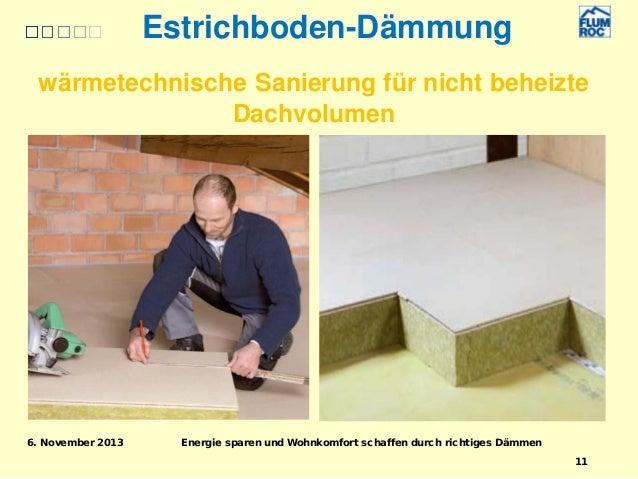 energie sparen und wohnkomfort schaffen durch richtiges d mmen. Black Bedroom Furniture Sets. Home Design Ideas