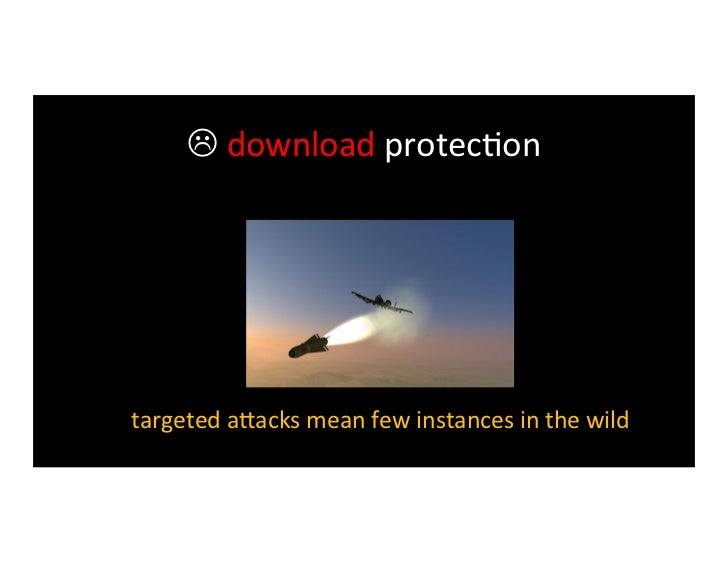  download protec>on an>-‐malware vendors take several days to come up                     with a...