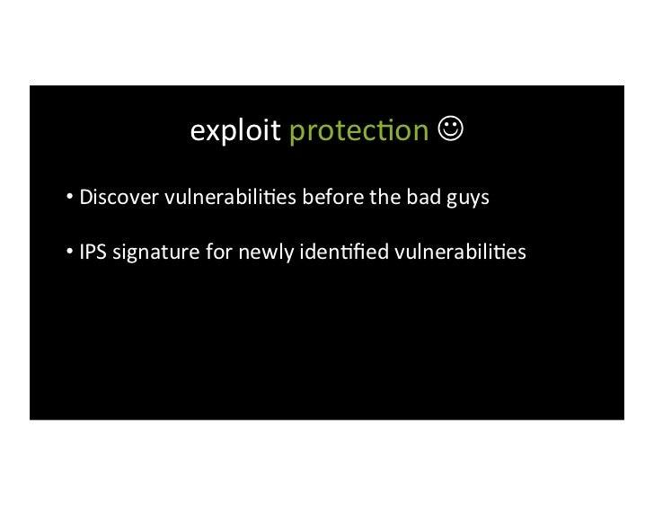 discovering MicrosoN vulnerabili>es                    Palo Alto                                       Tipping ...