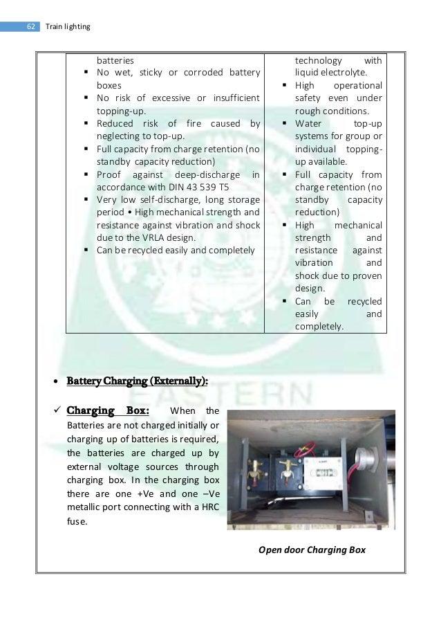vocational training report train lighting 22 62 train