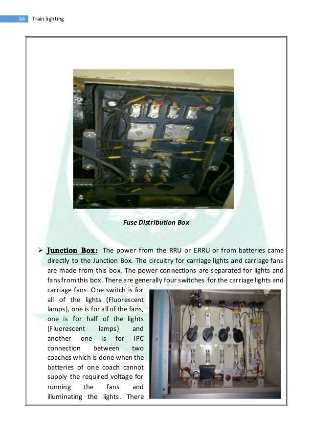 vocational training report train lighting 24 64 train lighting fuse distribution box