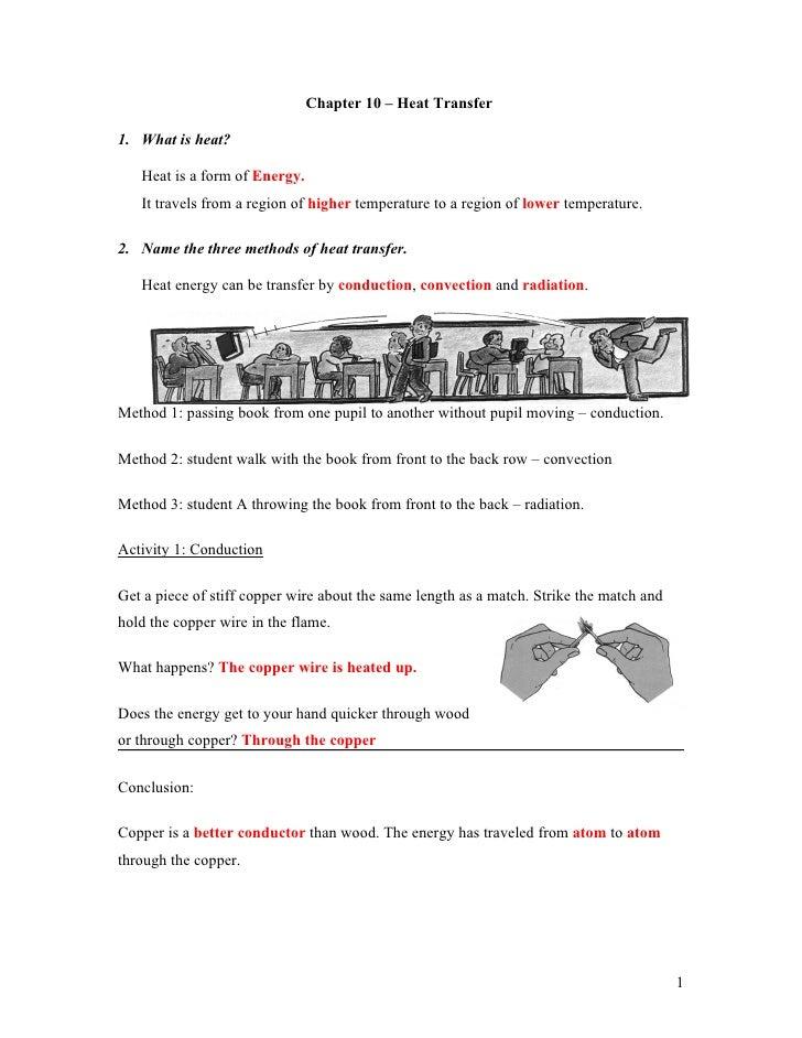 Worksheets Worksheet Methods Of Heat Transfer Answers worksheet methods of heat transfer answers photos pigmu
