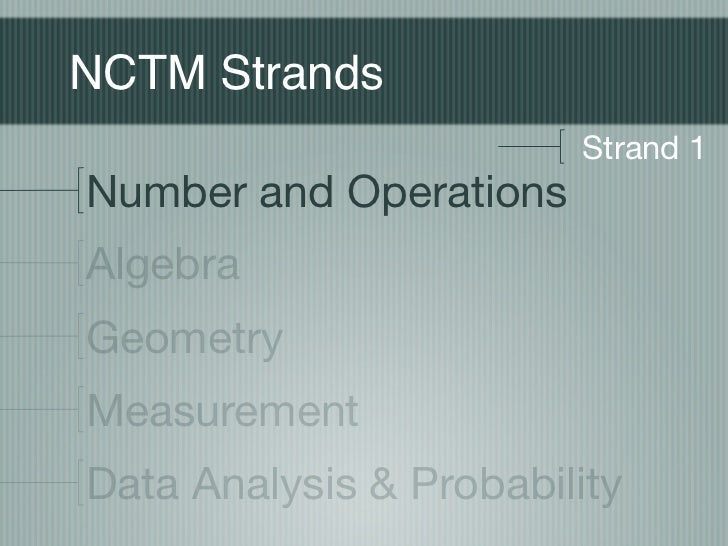 NCTM Number and Operations