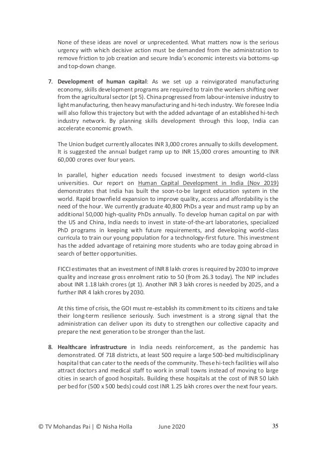 India's Response to COViD19 [June 2020]