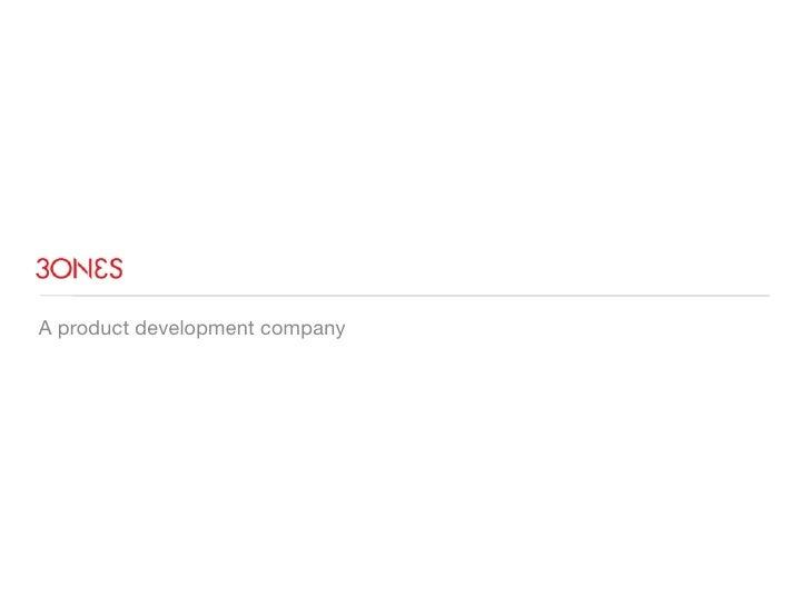 A product development company