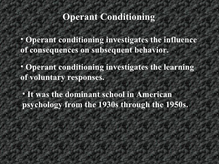classical conditioning and operant conditioning as the most useful ways of learning Everything you need to know about learning and conditioning  operant conditioning, classical  different ways and learning is the most efficient when.