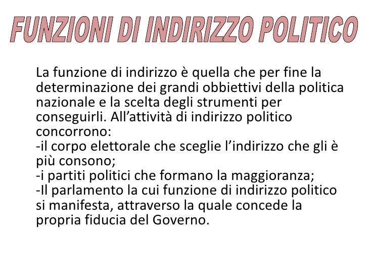 Ordinamento della repubblica for Indirizzo parlamento italiano
