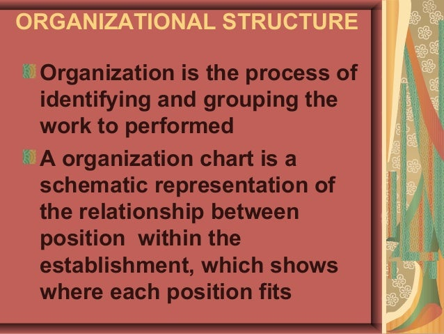 organization chart of hotel taj The organisational chart of a 5-star hotel index 1 introduction 2 the front office 3 kitchen managment 4 food and beverage 5event department 6 finance 1 welcoming guests 2 accommodation section front office 1 role 2 responsibilaties kitchen managment 1 organisation 2 small and a large hotel food and bevarage 1.