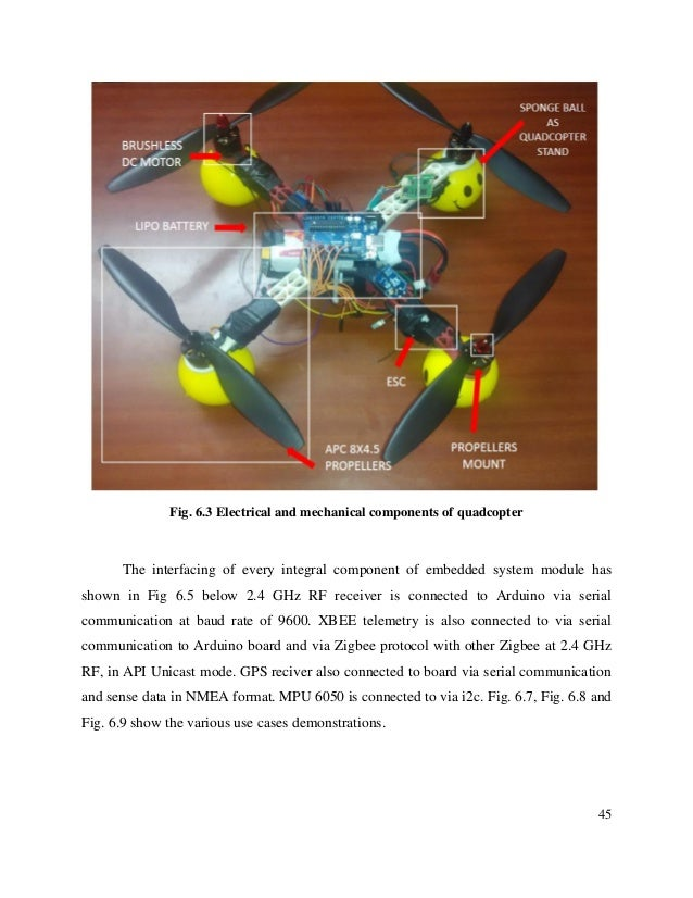 Unmanned aerial vehicle for surveillance