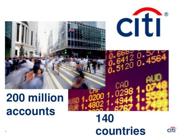 Advanced Analytics in Banking, CITI Slide 3