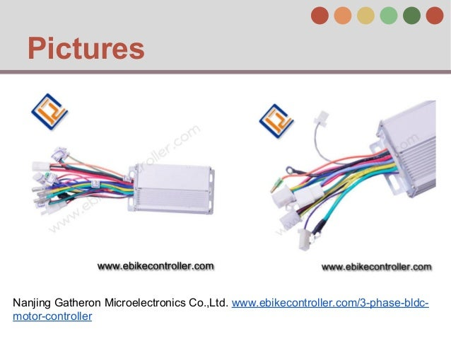 3 phase brushless dc motor controller for 3 phase motor control