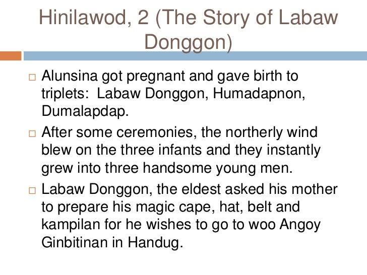 hinilawod story moral lesson