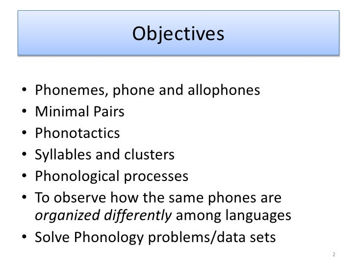 3 phonology slides Slide 2