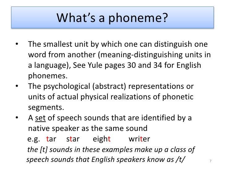 3 Phonology Slides