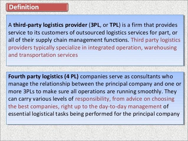 4pl logistics ppt