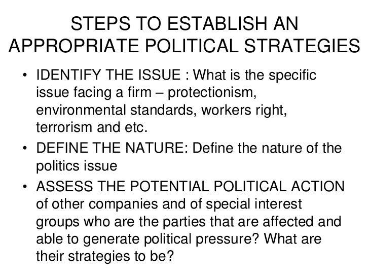 3 Political Environment