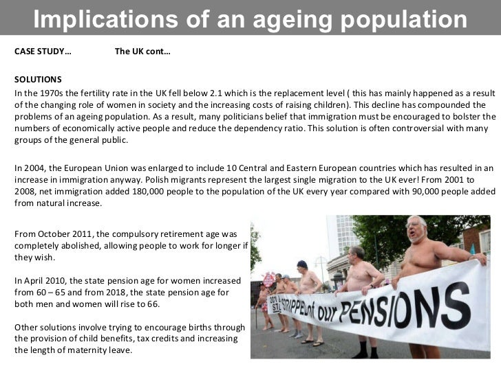problems of an ageing population Chinas ageing population effects there is no state pension in operation in hina people who retire must support themselves from savings the 4-2-1 problem means that.