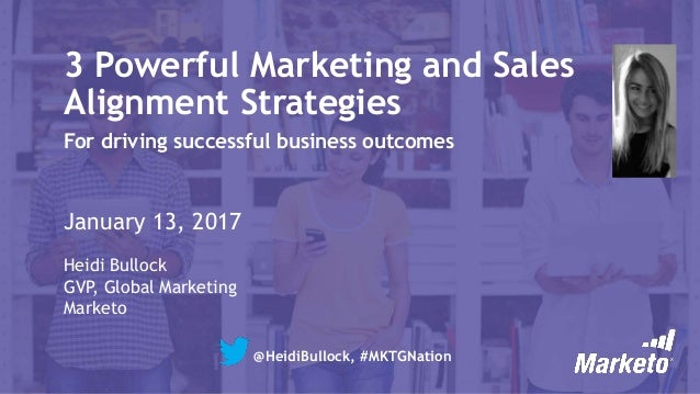 3 Powerful Marketing and Sales Alignment Strategies for Successful Business Outcomes