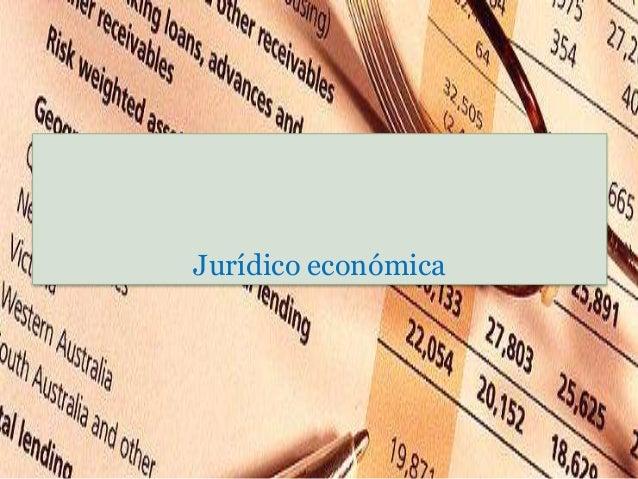 Jurídico económica