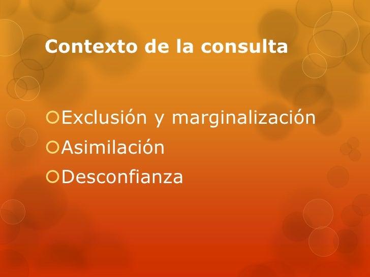 Condiciones y Elementos que fundamentan el Derecho a la Consulta de los Pueblos Indígenas Slide 2