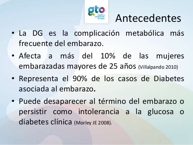 Prevalencia de diabetes gestacional y factores de riesgo