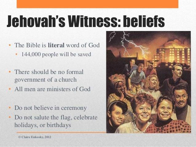 Jehovah's Witnesses – WRSP - wrldrels.org