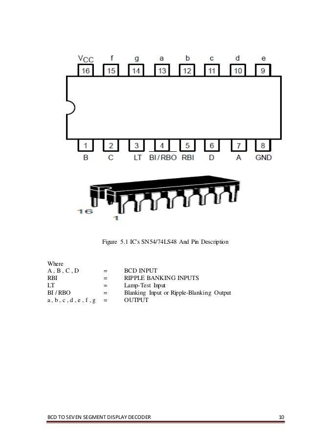 Seven Segment Display Using 74ls78 Ic Decoder