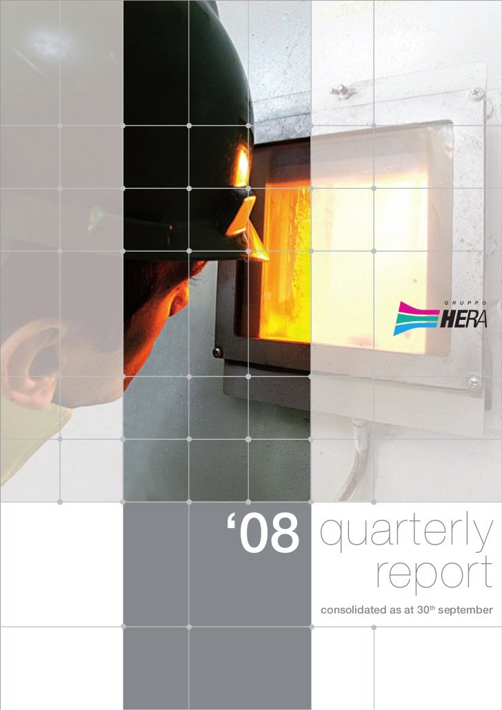'08 quarterly              report    consolidated as at 30th september