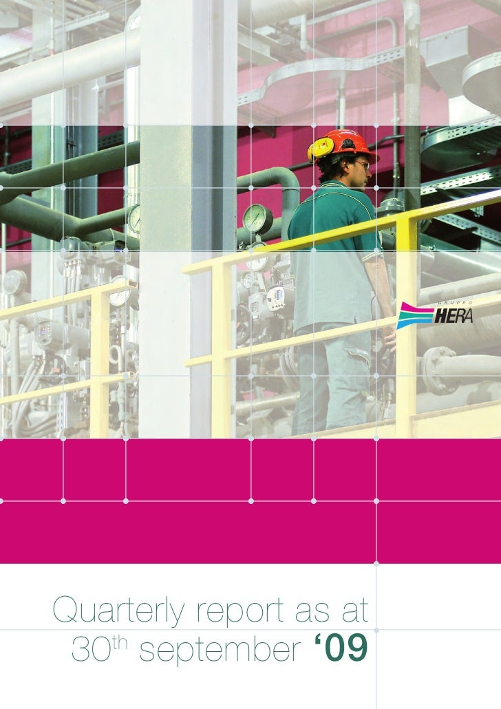 Quarterly report as at 30 september '09   th
