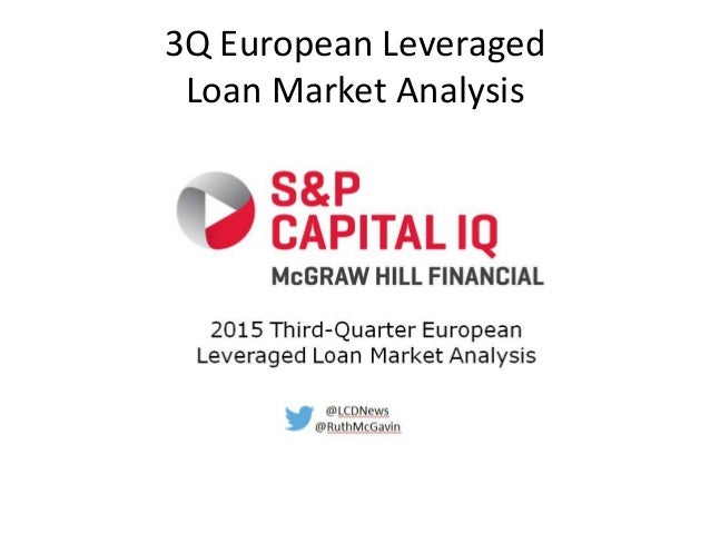 3Q European Leveraged Loan Market Analysis
