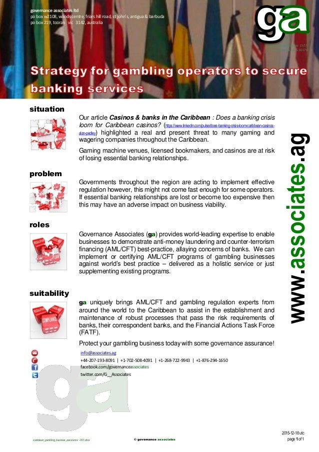 Anti money laundering gambling can you gamble online for real money