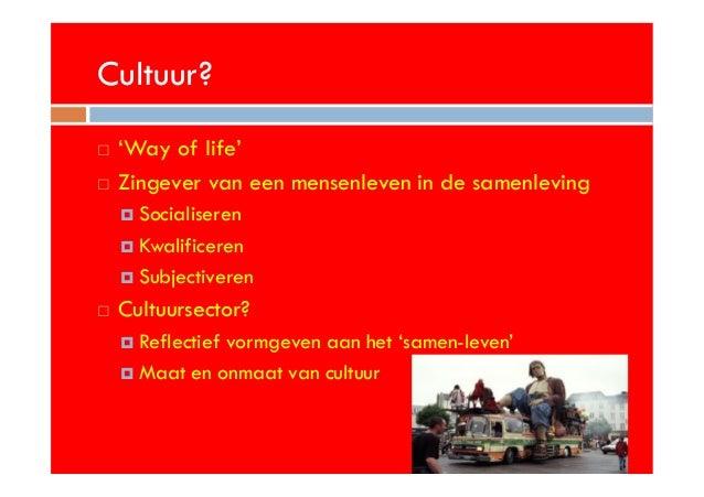 Solidariteit en de waarde van cultuur Slide 3