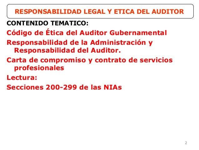 3ra clase responsabilidad legal y administrativa del for Responsabilidad legal