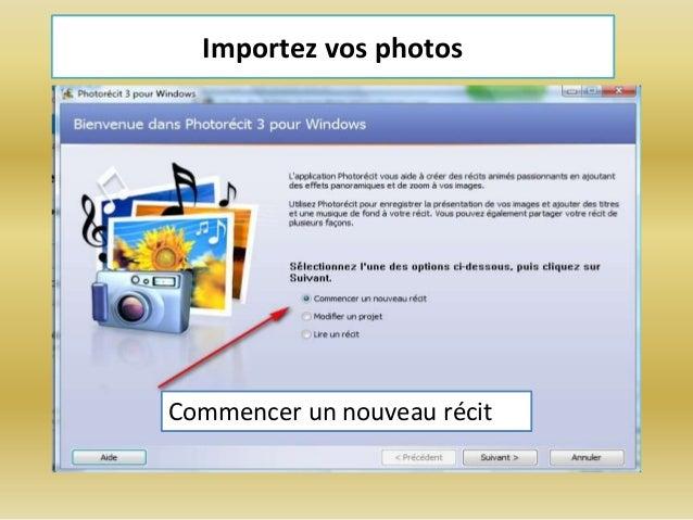 photorecit 3 pour windows