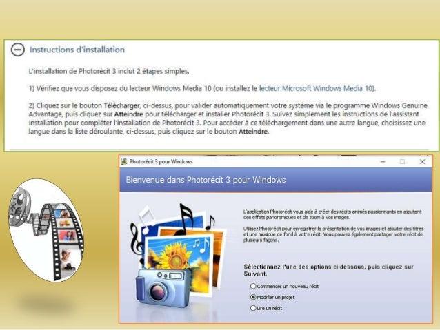 photorécit pour windows 7