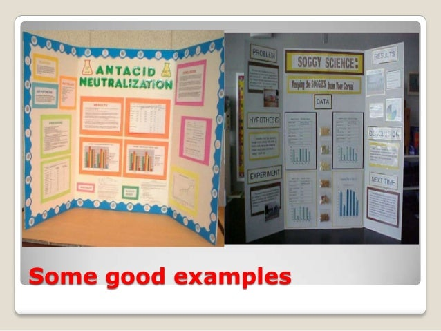 science fair powerpoint presentation examples
