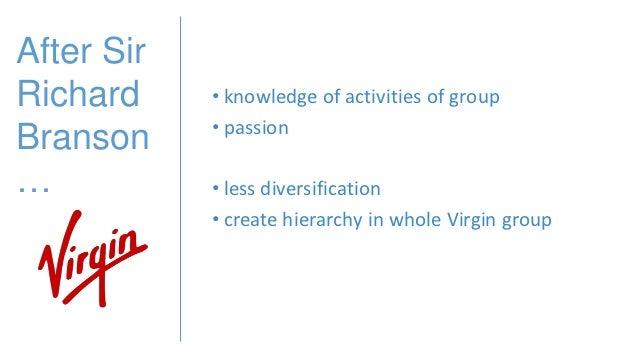 Virgin atlantic diversification strategy