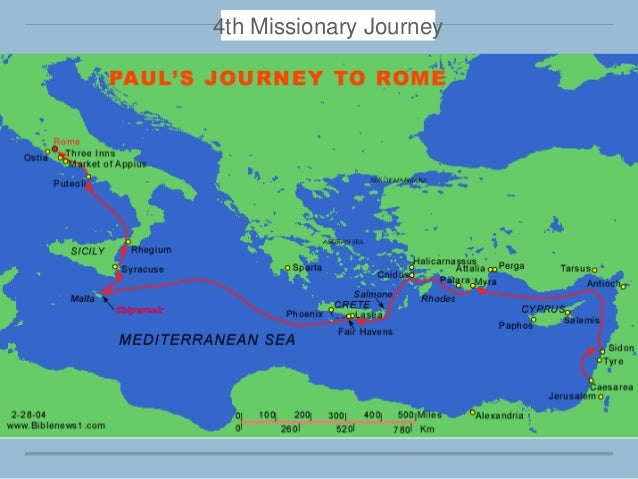 pauls missionary journey essay For example, when st paul talks about his conversion he makes no mention of a journey from jerusalem to damascus  paul the missionary.