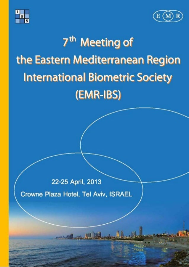 We encourage you to register for the EMR-IBS conference in Tel Aviv                        between 22-25 April, 2013.The c...