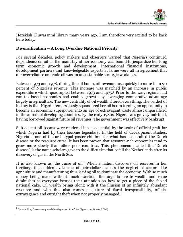 natural resources in nigeria pdf