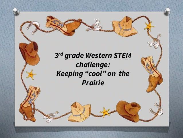 3rdgrade Western Stem Day 17 18