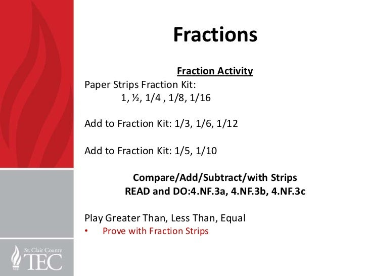 3rd grade word problems and fractions pd