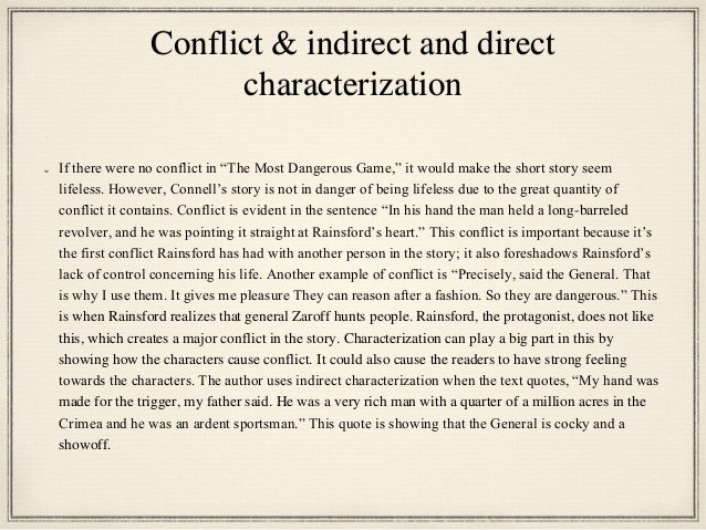 general zaroff analysis Characterizations in the most dangerous game essayscharacterizations in the most dangerous game although in the most dangerous game general zaroff is more fully characterized, richard connell, the author, intended for rainsford to be the dynamic character while zaroff is considered static and b.