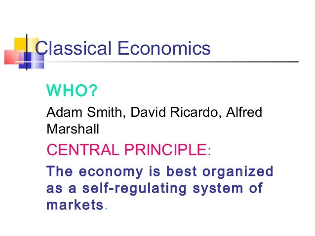Classical and Keynesian Economics: Contending Approaches to Macroeconomics Slide 2